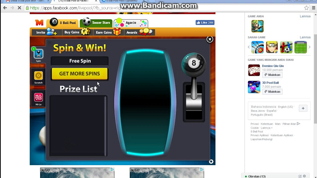 How To Cheat 8 Ball Pool On Pc Youtube