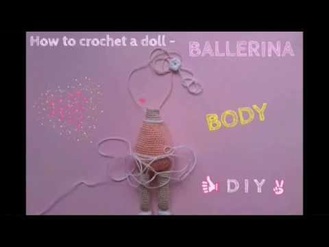 Ballerina doll amigurumi pattern | Ballerina doll, Crochet dolls ... | 360x480