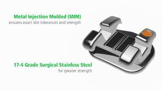 miniPrevail® Bracket System G H® Orthodontics