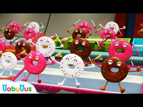 Donuts and His Friends  Learn Numbers Color Song  Nursery Rhymes  Kids Songs  BabyBus