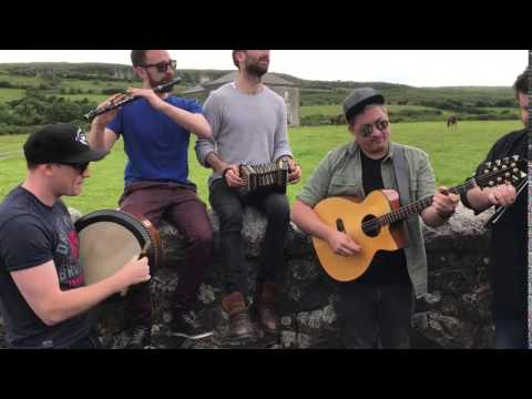 Ímar  play Father Ted theme tune outside The Parochial House