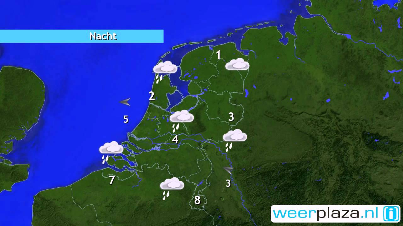 Weerbericht vrijdagmiddag Winter verovert Nederland YouTube