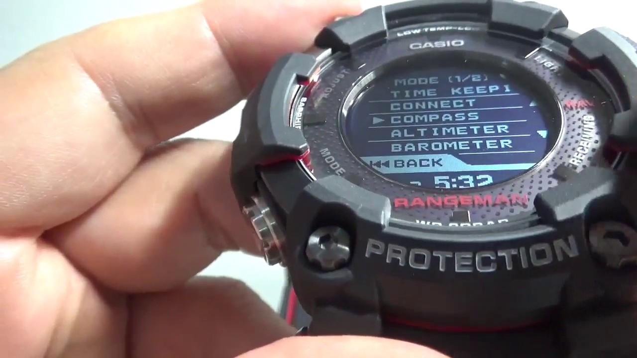 gpr b1000 1jr casio 2018 g shock rangeman gps men 39 s watch. Black Bedroom Furniture Sets. Home Design Ideas