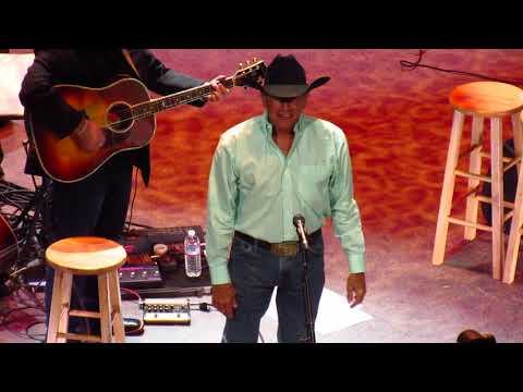 George Strait - The Cowboy Rides Away (Full Song) & Exit Live In Las Vegas 2019