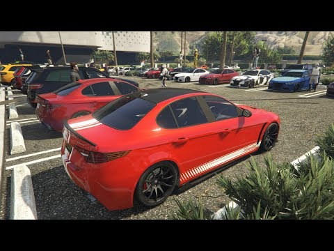Livestream - GTA 5 - NEW CASINO CARS MEET And Racing Playlist PS4