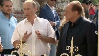 Bellissimo: Берлускони в Крыму сфотографировался с деревом