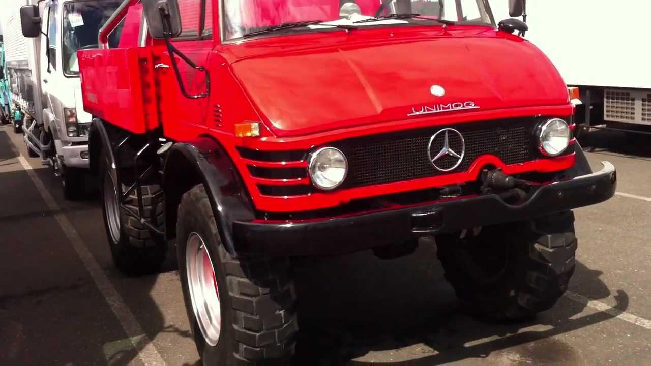 1973 Mercedes Benz Unimog, 4x4 beast! - YouTube