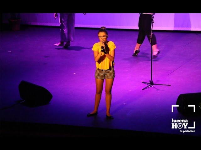 """VÍDEO: Gala """"Tú sí que cantas"""" 2017: Entrega de premios e interpretación del tema ganador por Ana María Burguillos Bobis."""