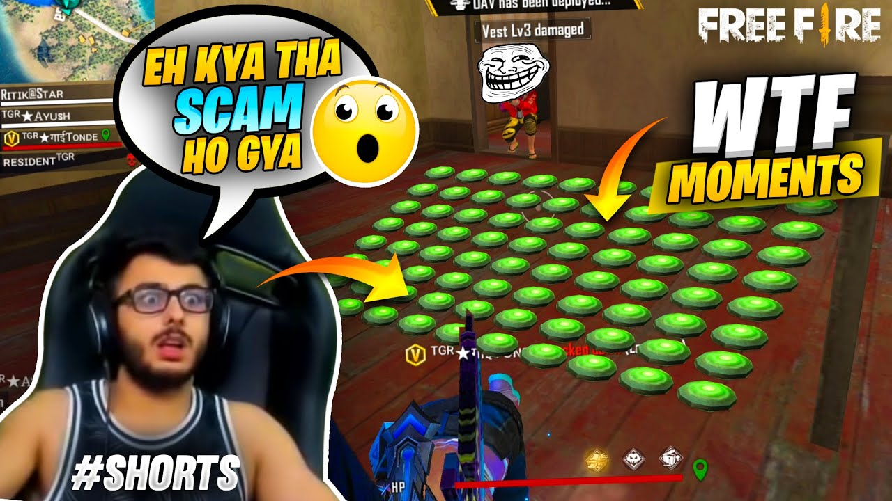 999+ IQ Landmine Scam 2021 with Tonde Gamer #Shorts - Garena Free Fire Wtf Moments || Must Watch