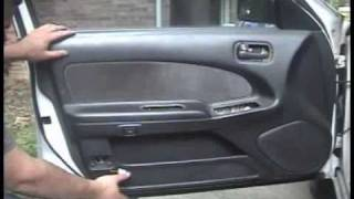 1995-1999 Nissan Maxima: Front door panel removal