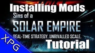 How to Install Mods for Sins of a Solar Empire - Star Trek Armada 3