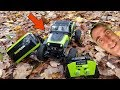New Bright R/C DashCam Jeep TrailCat REVIEW, FPV RC Car