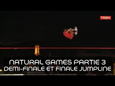 [Natural Games 2017] Revivez le live! - Partie 3: Live Demi-finale et Finale de Jumpline - Trek TV