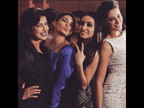 Pic Of The Day: Priyanka Chopra, Shraddha Kapoor, Jacqueline Fernandes & Nargis Fakhri Mp3