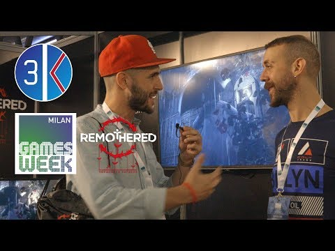 Intervista a Chris Darril - Remothered: Tormented Fathers - Milano Games Week 2017