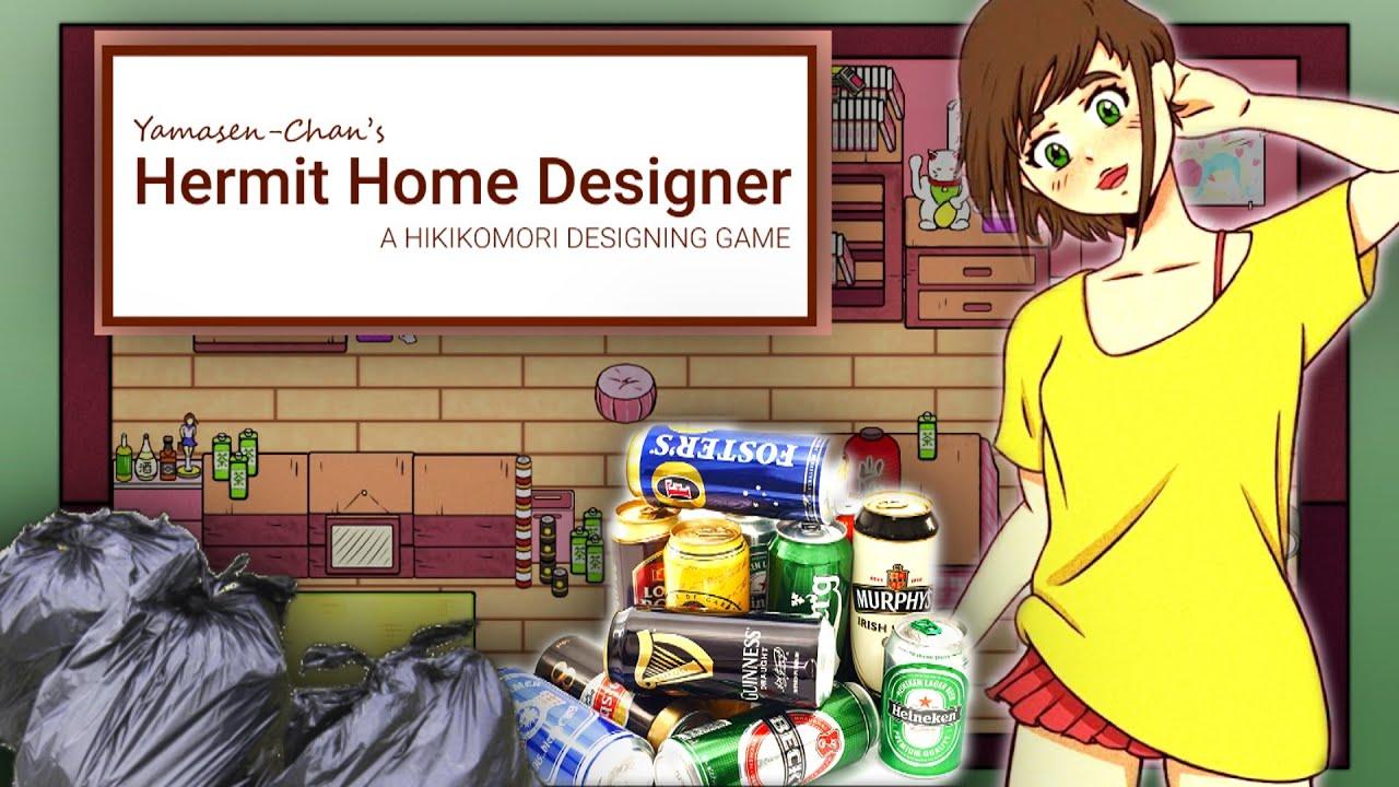 RANGE TA CHAMBRE (Waifu Edition) !! -Hermit Home Designer- [WAIFU GAME]