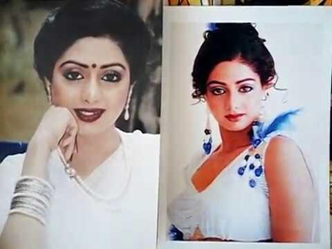 Photo Of Sridevi.|| Мои цветные фотографии со Шридеви.