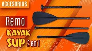 Vídeo: Remo multiuso Paddle Surf o Kayak