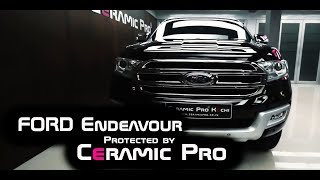 FORD Endeavour Protected by Ceramic Pro® 9H