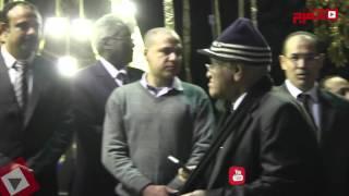 حمدين وخالد علي و«الهلباوي» وكبار الإعلاميين في عزاء «هيكل» (اتفرج)