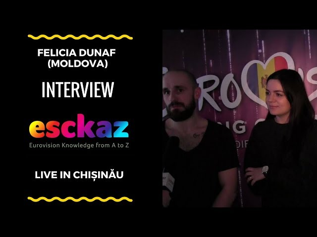 ESCKAZ in Chișinău: Felicia Dunaf - Alien (interview)