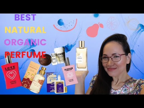 BEST NATURAL ORGANIC PERFUME FOR WOMAN