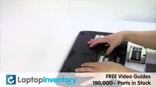 Toshiba Satellite C655 RAM Replacement Memory Installation Replace Fix Install Laptop