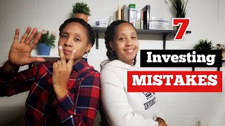 How to Invest: The 7 mistakes investing beginners make. You're probably guilty of #1
