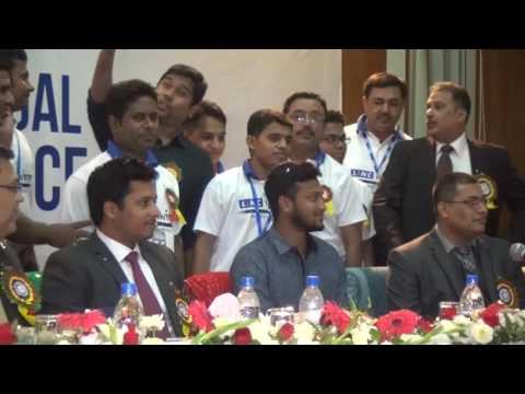 Shakib Al Hasan in Conference Hall