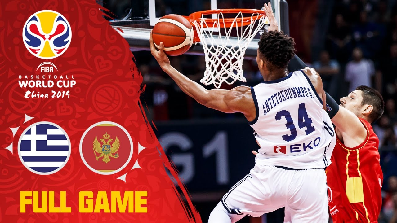 Greece show Montenegro what they can do! - Full Game
