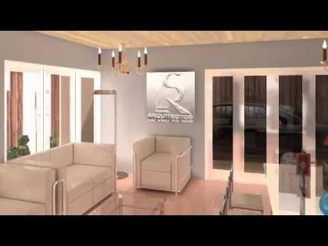 Remodelacion de interiores en maqueta virtual dise o de for Diseno estructural de casa habitacion