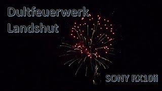 Fireworks - Dultfeuerwerk 2017 Landshut - Sony RX10ii