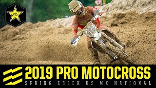 2019 Pro Motocross Spring Creek US MX National |...