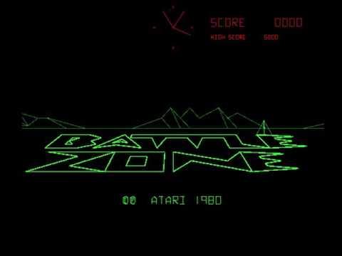 Battle Zone (Atari 1980)  Attract Mode 60fps