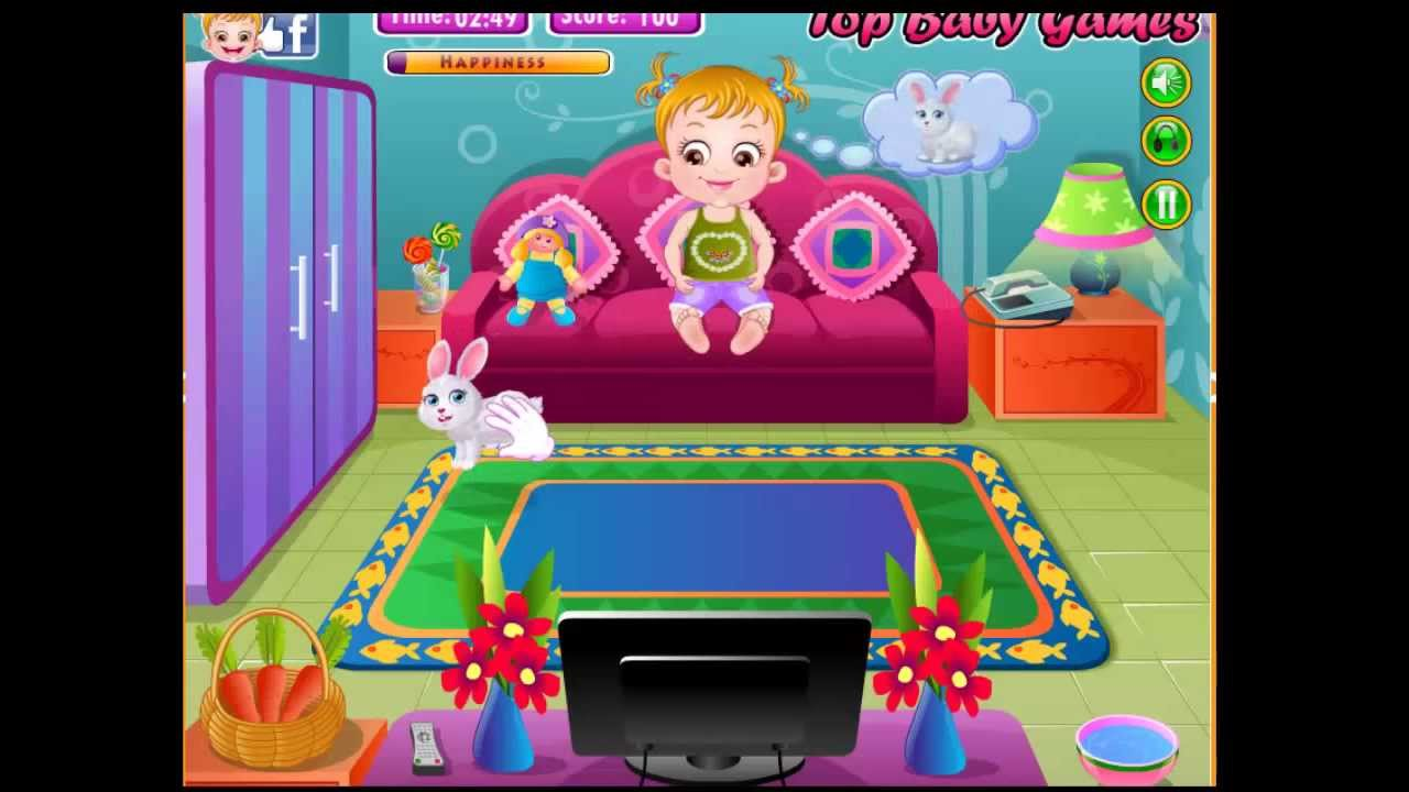new game baby hazel backyard party full screen replay add to