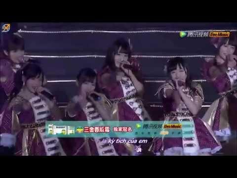 [Vietsub + kara] SNH48. M03 - Kimi no koto ga suki dakara @ Request Time