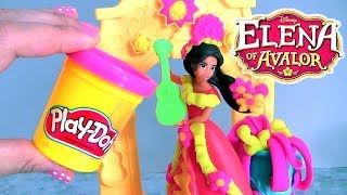 Play-Doh Disney Elena of Avalor Royal Fiesta by Funtoys