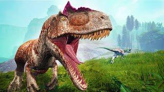Dinossauro - Alossauro Andarilho, Carnotauro tomador de Carcaça, Acrocantossauro Tonto - The Isle🦕