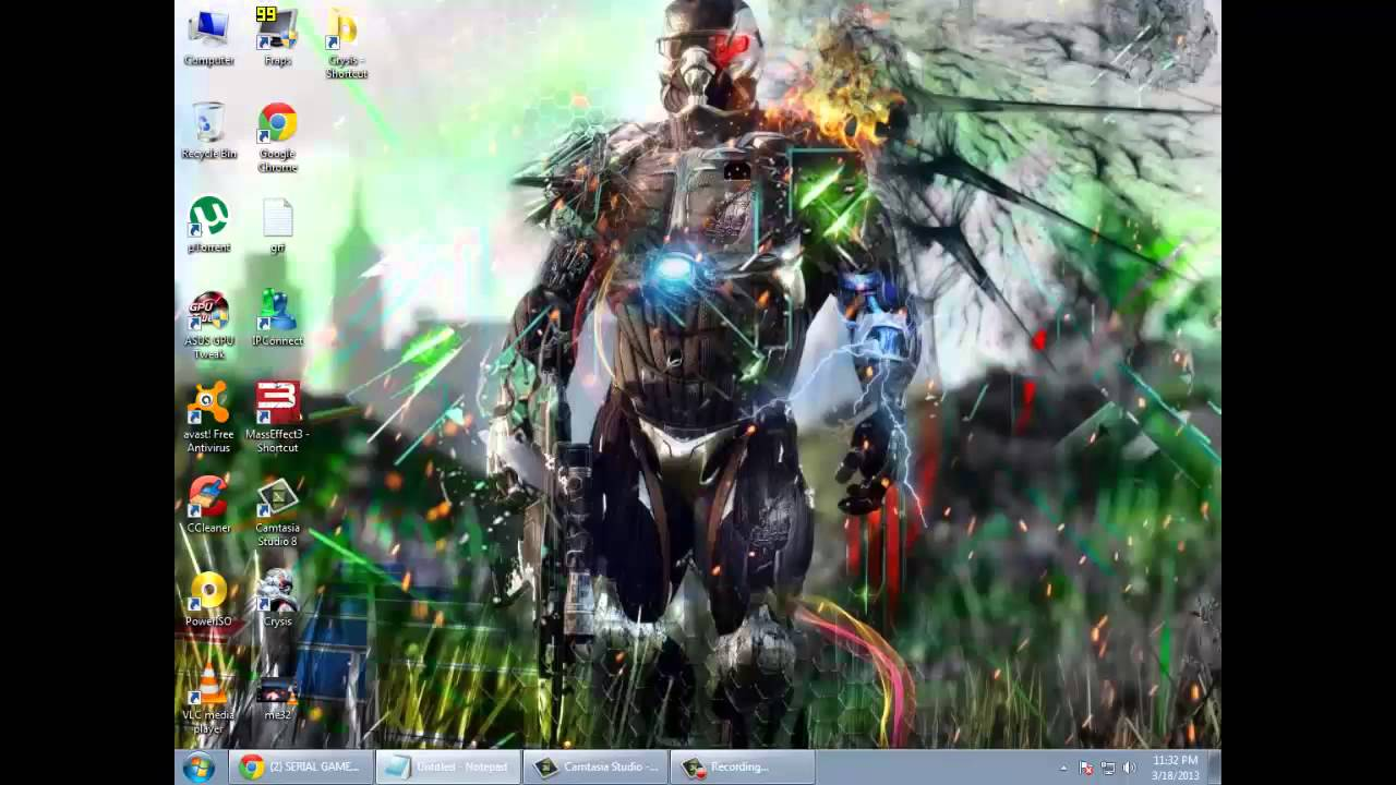 Crysis 1 Windows 7 fix (APPCRASH,BLACK SCREEN)