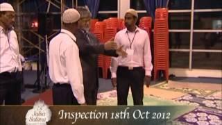 Inspection of Jalsah Salana Mauritius  2012