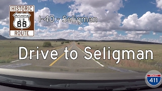 Historic Route 66 - Ash Fork - Seligman - Arizona | Drive America's Highways 🚙