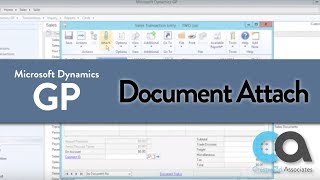 Document Attach in Dynamics GP