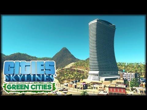 Jetzt mit Fahrradwegen und einem sehr großem Hotel   Cities: Skylines S3 #38 - Green Cities