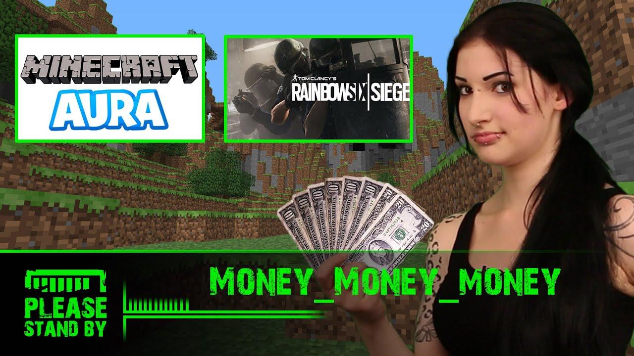 Minecraft AURA mit ungespielt, Taddl, PXLWLF und co. + YouTube Money + Rainbow Six: Siege