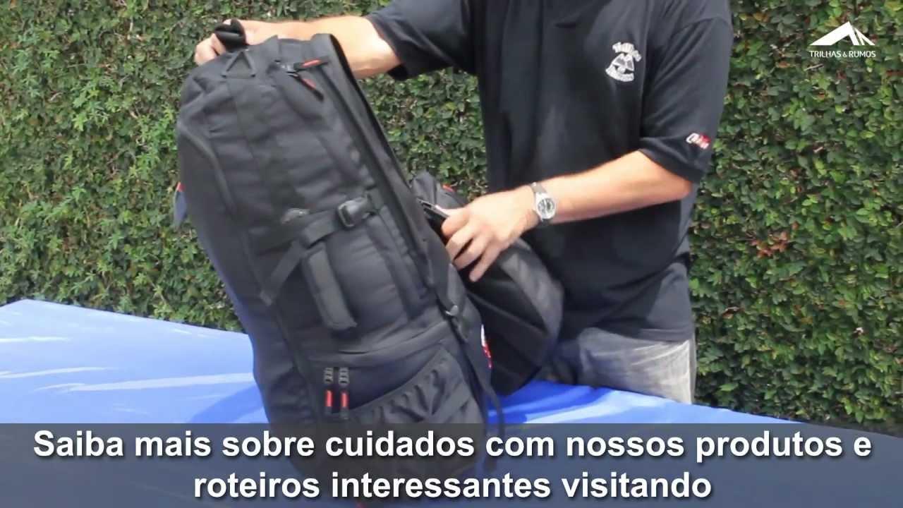 f63eb379f Trilhas & Rumos - Usos da mochila Transglobe 78 - YouTube