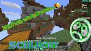 Wie in Fornite... Einfach nur schlecht !!! - Minecraft Skywars