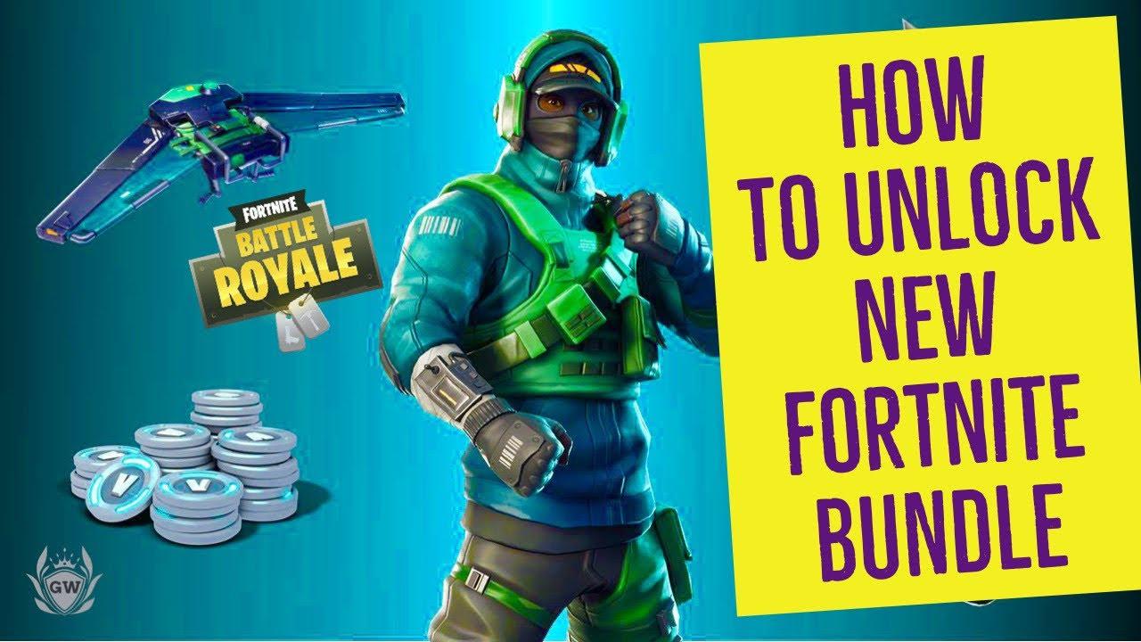 New Reflex Skin Bundle Giveaways Fortnite Battle Royale