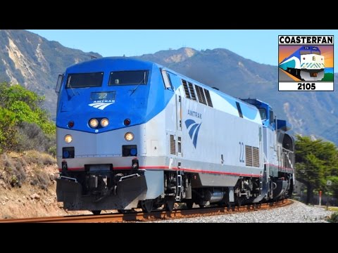 Amtrak Trains of America! 50+ Trains!