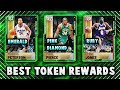 THE BEST TOKEN REWARDS TO GET AT EVERY TIER IN NBA 2K19 MyTEAM!!