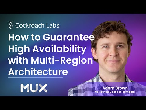 How MUX Guarantees High Availability with Multi-Region Architecture